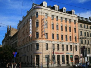 Отель в центре Риги